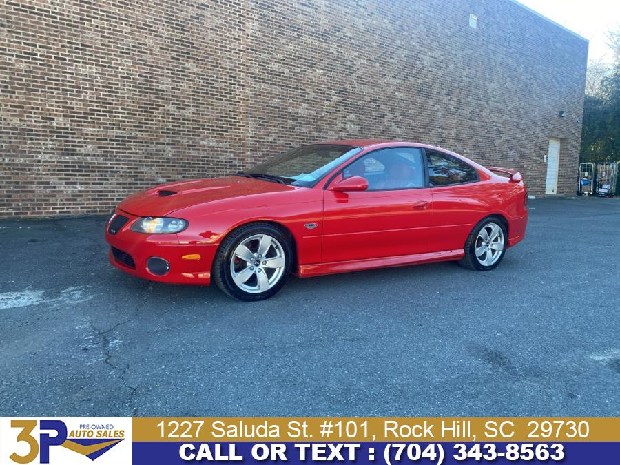 Used 2005 Pontiac GTO in Rock Hill, South Carolina | 3 Points Auto Sales. Rock Hill, South Carolina