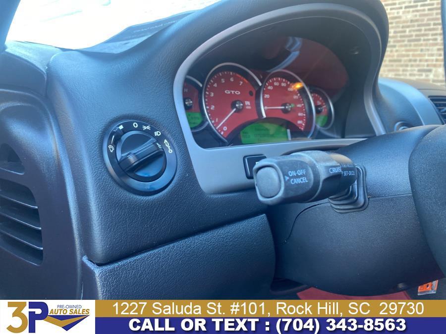 Used Pontiac GTO 2dr Cpe 2005 | 3 Points Auto Sales. Rock Hill, South Carolina