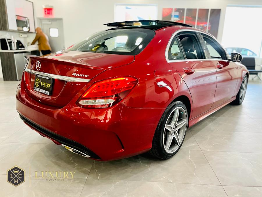 Used Mercedes-Benz C-Class C 300 4MATIC Sedan with Sport Pkg 2017 | C Rich Cars. Franklin Square, New York