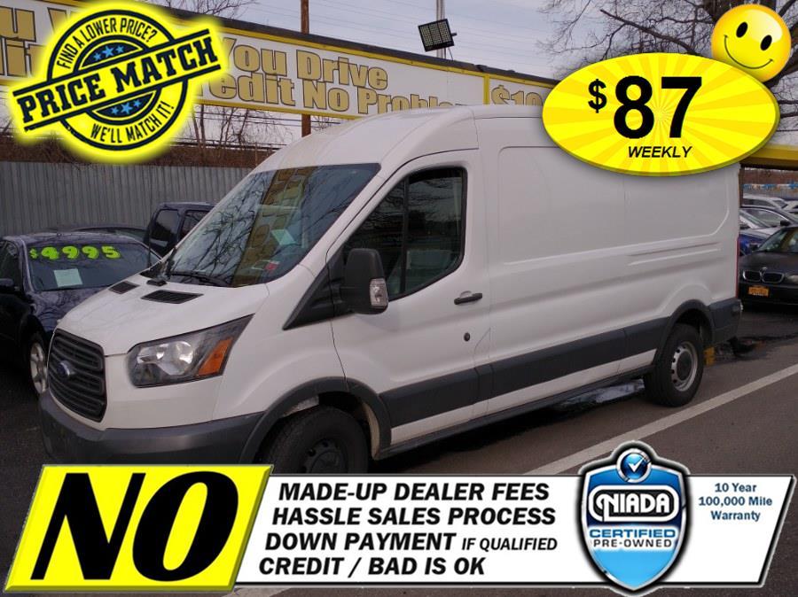 "Used Ford Transit Van T-250 148"" Med Rf 9000 GVWR Sliding RH Dr 2017   Sunrise Auto Sales of Elmont. Elmont, New York"
