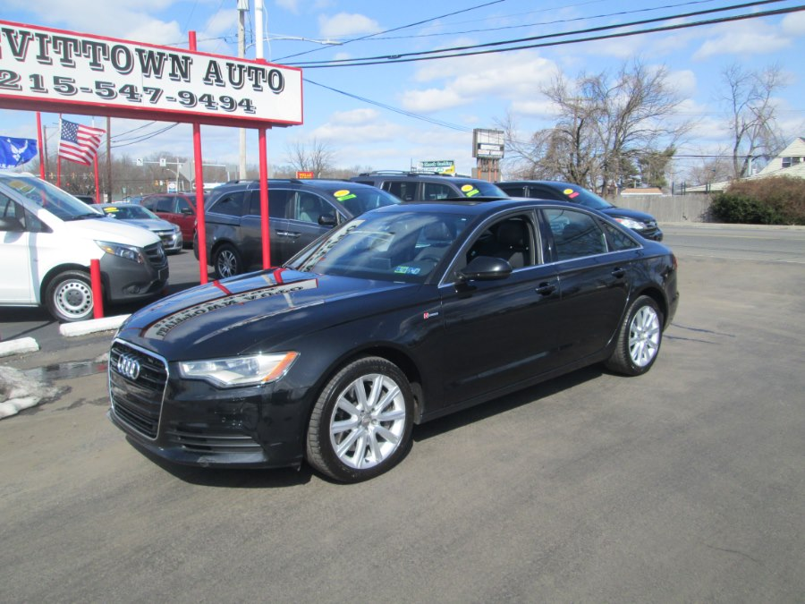 Used Audi A6 4dr Sdn quattro 3.0T Premium Plus 2013 | Levittown Auto. Levittown, Pennsylvania
