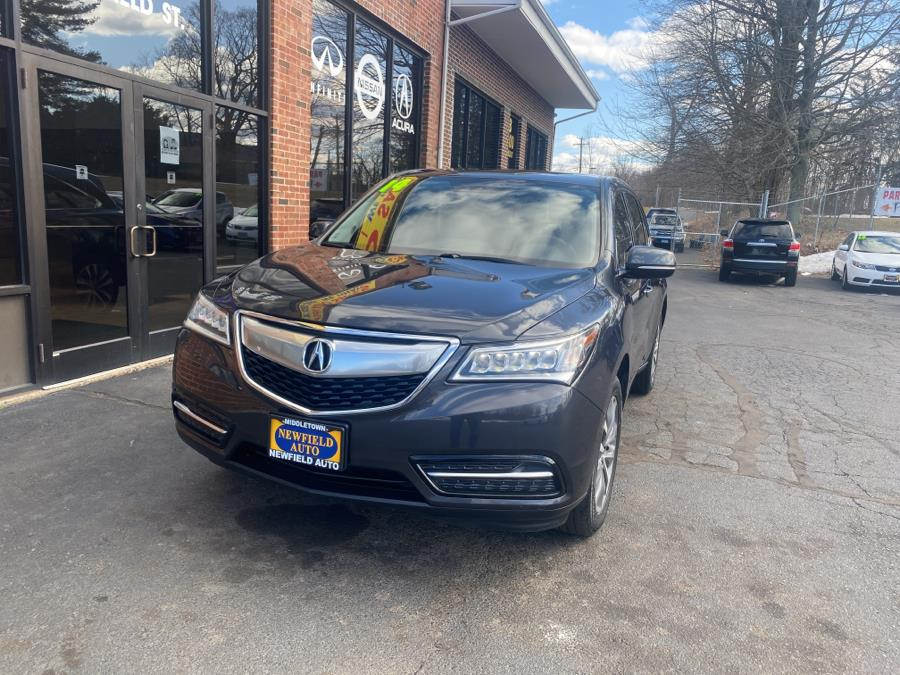 Used Acura MDX SH-AWD 4dr Tech Pkg 2014 | Newfield Auto Sales. Middletown, Connecticut