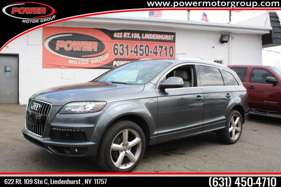 Used 2015 Audi Q7 in Lindenhurst , New York | Power Motor Group. Lindenhurst , New York