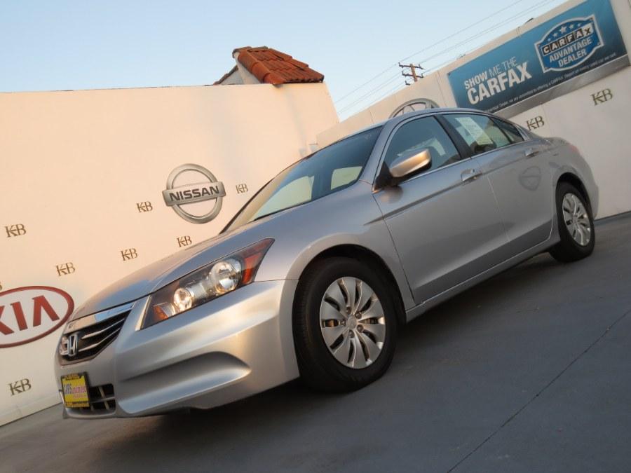 Used Honda Accord Sdn 4dr I4 Auto LX 2012 | Auto Max Of Santa Ana. Santa Ana, California
