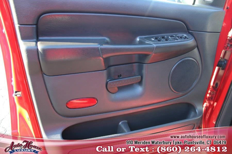 "Used Dodge Ram 2500 4dr Quad Cab 160.5"" WB 4WD SLT 2005 | Auto House of Luxury. Plantsville, Connecticut"