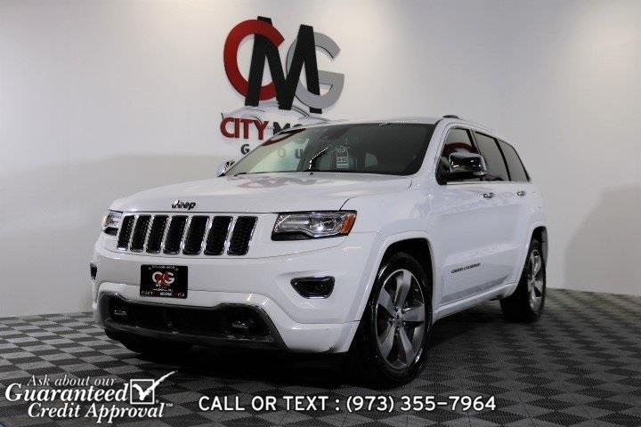 Used Jeep Grand Cherokee Overland 2015 | City Motor Group Inc.. Haskell, New Jersey