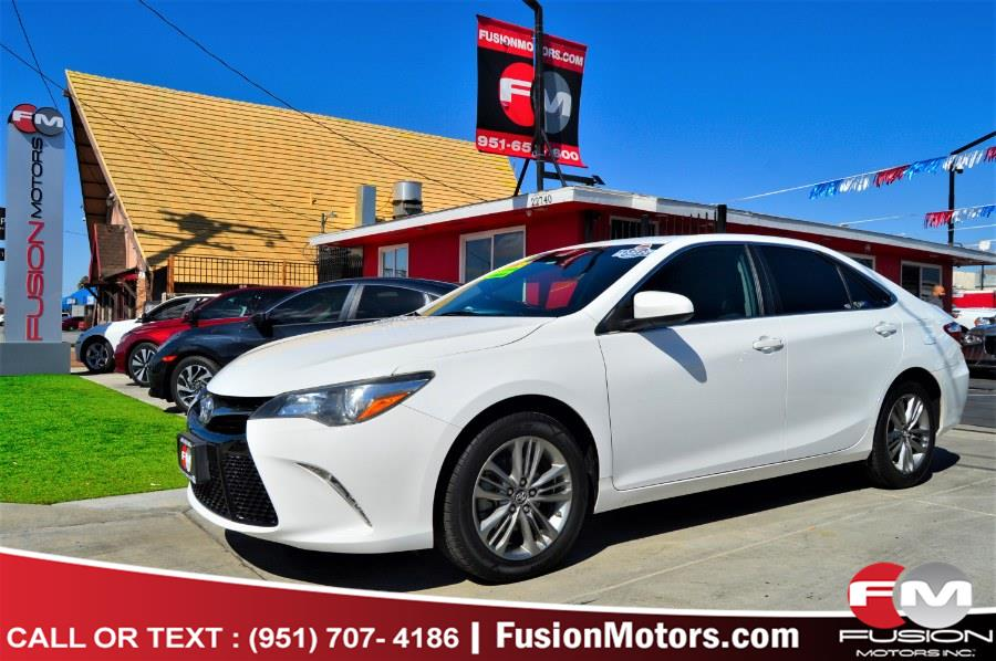 Used 2017 Toyota Camry in Moreno Valley, California | Fusion Motors Inc. Moreno Valley, California