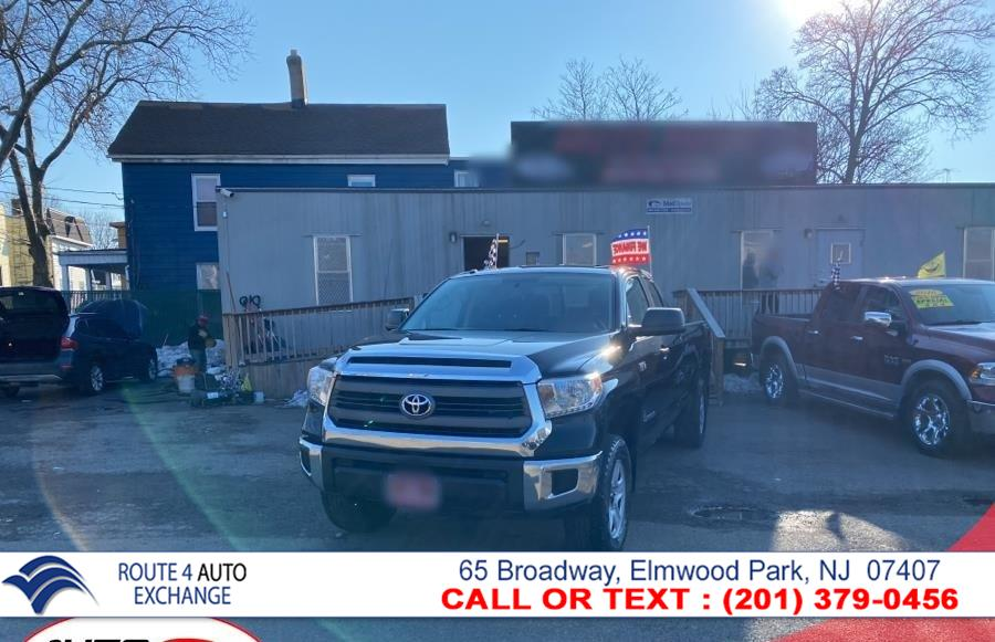 Used Toyota Tundra 4WD Truck Double Cab LB 5.7L V8 6-Spd AT SR (Natl) 2014   Route 4 Auto Exchange. Elmwood Park, New Jersey