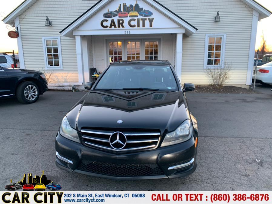 Used Mercedes-Benz C-Class 4dr Sdn C300 Sport 4MATIC 2014   Car City LLC. East Windsor, Connecticut
