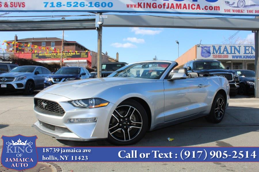 Used Ford Mustang EcoBoost Premium Convertible 2019 | King of Jamaica Auto Inc. Hollis, New York