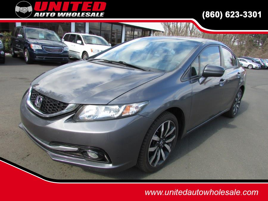Used Honda Civic Sedan 4dr CVT EX-L w/Navi 2015 | United Auto Sales of E Windsor, Inc. East Windsor, Connecticut