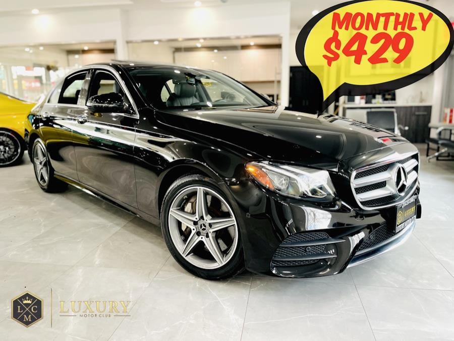 Used Mercedes-Benz E-Class E 300 4MATIC Sedan 2018 | C Rich Cars. Franklin Square, New York