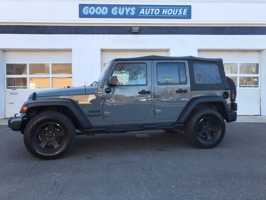 Used Jeep Wrangler Unlimited 4WD 4dr Sport 2015 | Good Guys Auto House. Southington, Connecticut