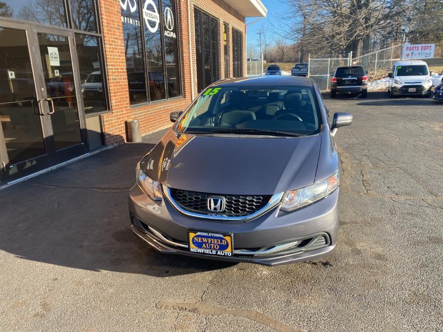 Used 2015 Honda Civic Sedan in Middletown, Connecticut | Newfield Auto Sales. Middletown, Connecticut