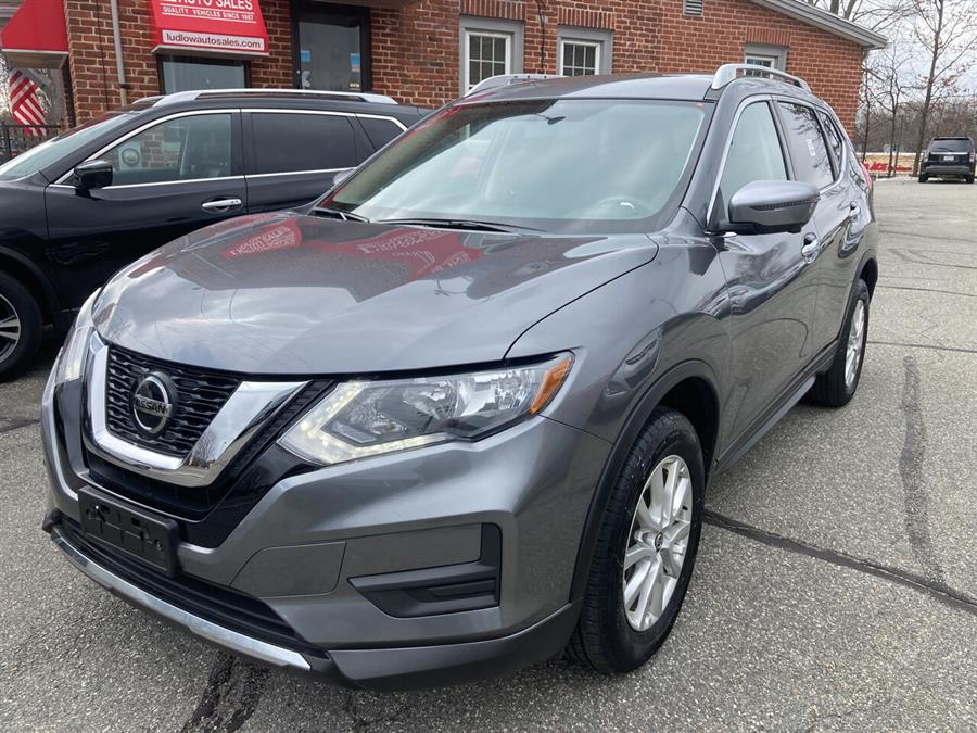 Used Nissan Rogue SV AWD 4dr Crossover 2018 | Ludlow Auto Sales. Ludlow, Massachusetts