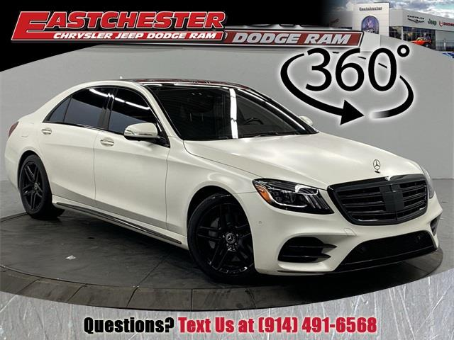Used 2018 Mercedes-benz S-class in Bronx, New York   Eastchester Motor Cars. Bronx, New York