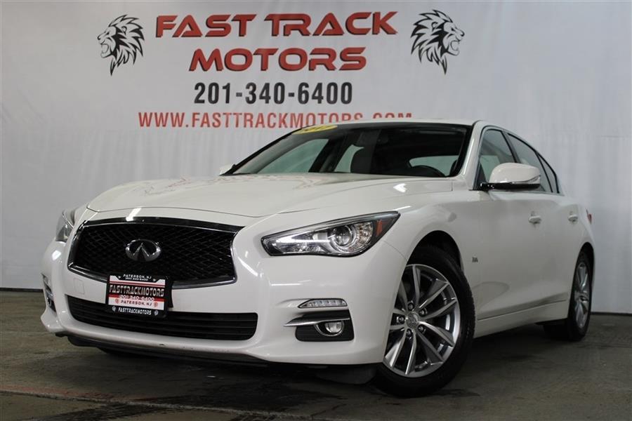 Used Infiniti Q50 PREMIUM 2017 | Fast Track Motors. Paterson, New Jersey
