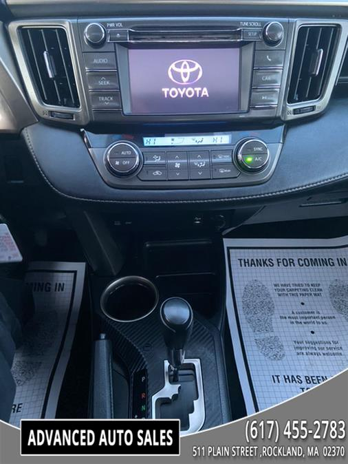 Used Toyota RAV4 AWD 4dr XLE (Natl) 2013   Advanced Auto Sales. Rockland, Massachusetts