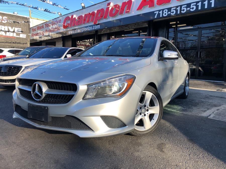 Used 2015 Mercedes-Benz CLA-Class in Bronx, New York | Champion Auto Sales Of The Bronx. Bronx, New York