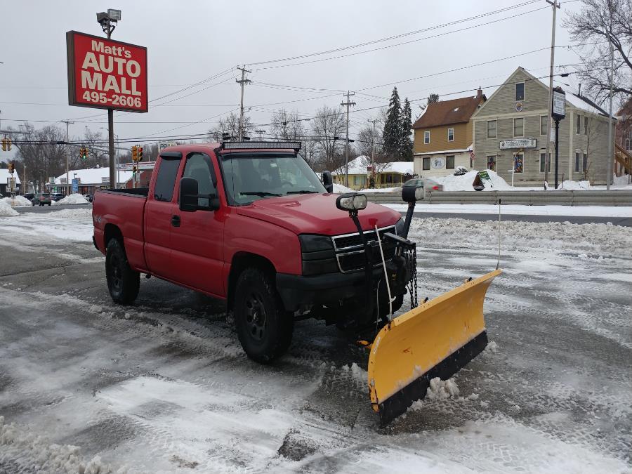 "Used Chevrolet Silverado 1500 Ext Cab 143.5"" WB 4WD Work Truck 2006 | Matts Auto Mall LLC. Chicopee, Massachusetts"