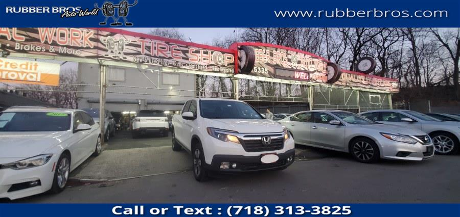 Used Honda Ridgeline RTL 4x4 Crew Cab 5.3'' Bed 2017 | Rubber Bros Auto World. Brooklyn, New York