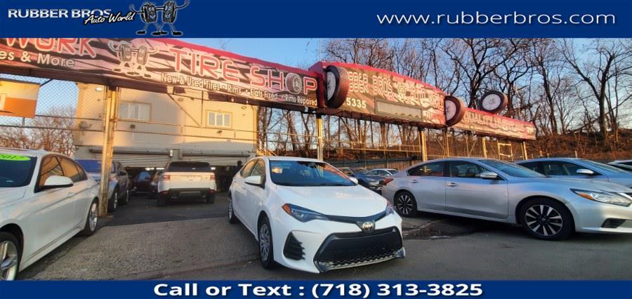 Used 2018 Toyota Corolla in Brooklyn, New York | Rubber Bros Auto World. Brooklyn, New York