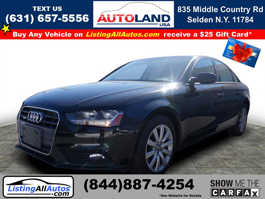 Used 2014 Audi A4 in Patchogue, New York | www.ListingAllAutos.com. Patchogue, New York