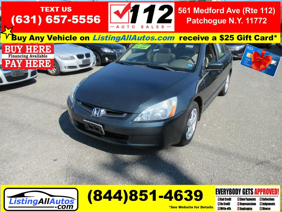 Used Honda Accord Sdn EX-L AT 2005 | www.ListingAllAutos.com. Patchogue, New York