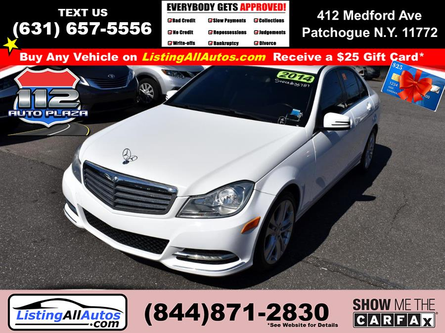 Used Mercedes-benz C-class 4dr Sdn C 300 Sport 4MATIC 2014 | www.ListingAllAutos.com. Patchogue, New York