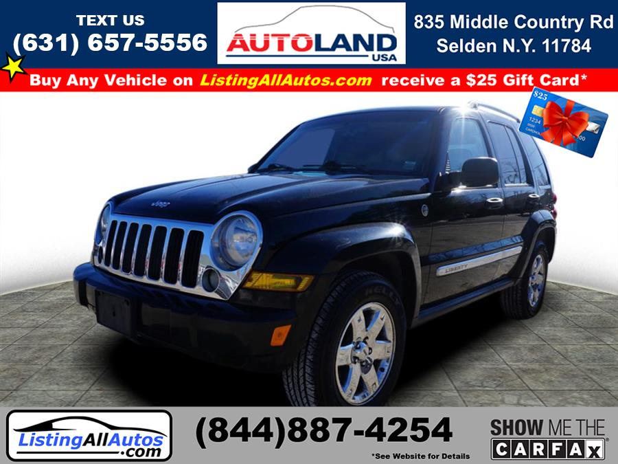 Used Jeep Liberty Limited 2006 | www.ListingAllAutos.com. Patchogue, New York