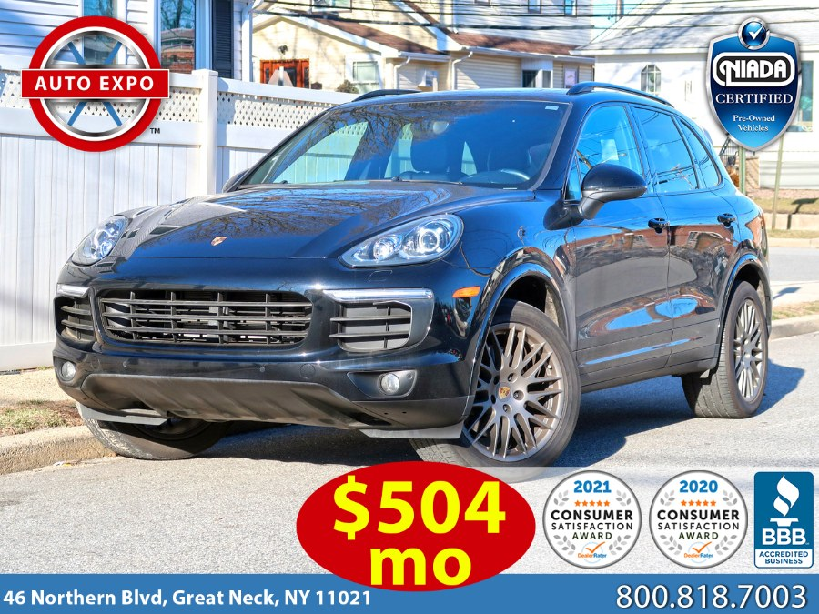 Used 2018 Porsche Cayenne Platinum Edition in Great Neck, New York | Auto Expo Ent Inc.. Great Neck, New York