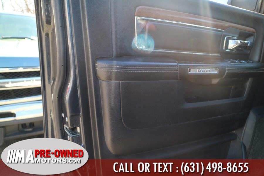 "Used Ram 2500 DEISEL CREW CAB 4WD Crew Cab 149"" Laramie DIESEL 2016 | M & A Motors. Huntington, New York"