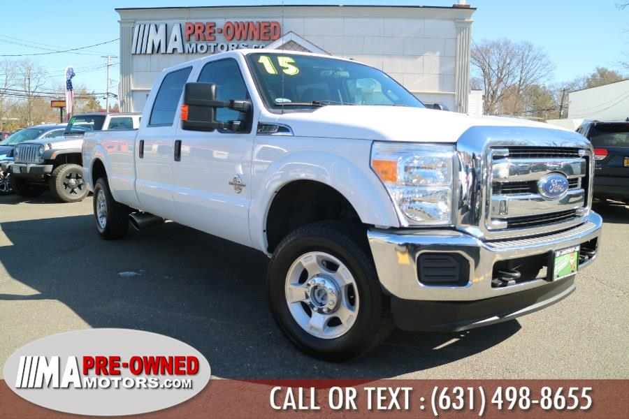 Used 2015 Ford Super Duty F-250 SRW diesel 8ft bed in Huntington, New York | M & A Motors. Huntington, New York