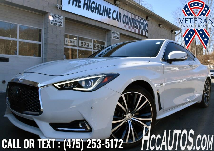 Used 2017 INFINITI Q60 in Waterbury, Connecticut | Highline Car Connection. Waterbury, Connecticut