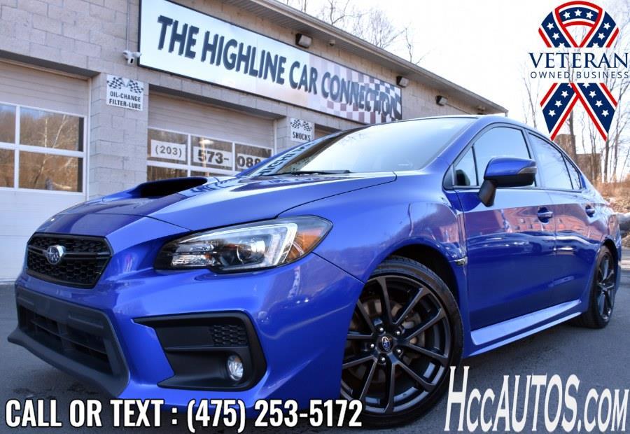 Used 2018 Subaru WRX in Waterbury, Connecticut | Highline Car Connection. Waterbury, Connecticut