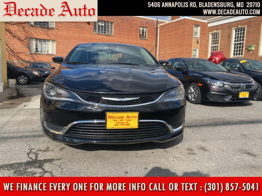 Used 2015 Chrysler 200 in Bladensburg, Maryland | Decade Auto. Bladensburg, Maryland