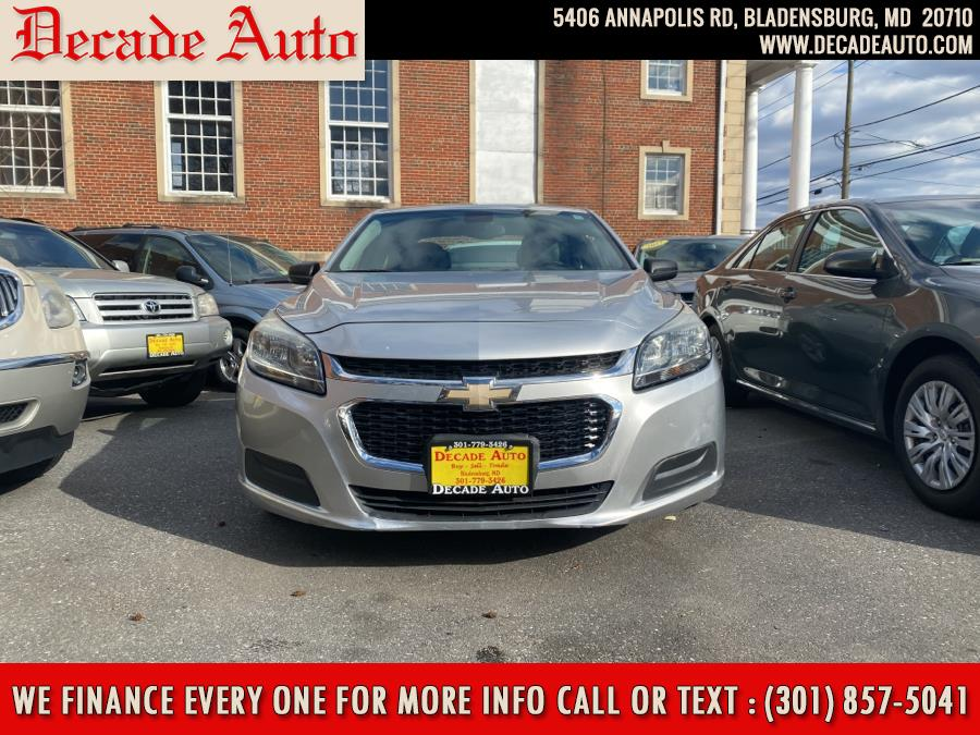 2015 Chevrolet Malibu 4dr Sdn LS w/1LS, available for sale in Bladensburg, MD