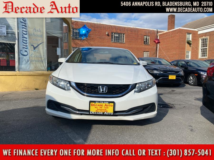 Used 2014 Honda Civic Sedan in Bladensburg, Maryland | Decade Auto. Bladensburg, Maryland