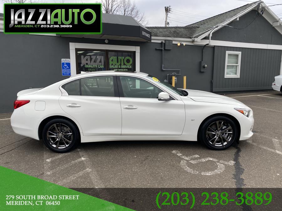 Used 2015 INFINITI Q50 in Meriden, Connecticut | Jazzi Auto Sales LLC. Meriden, Connecticut