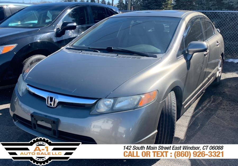 Used Honda Civic Sdn 4dr Auto EX-L 2008 | A1 Auto Sale LLC. East Windsor, Connecticut