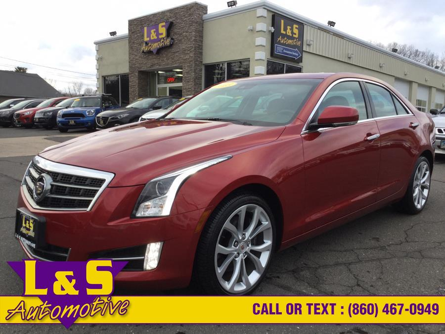 Used 2013 Cadillac ATS in Plantsville, Connecticut   L&S Automotive LLC. Plantsville, Connecticut