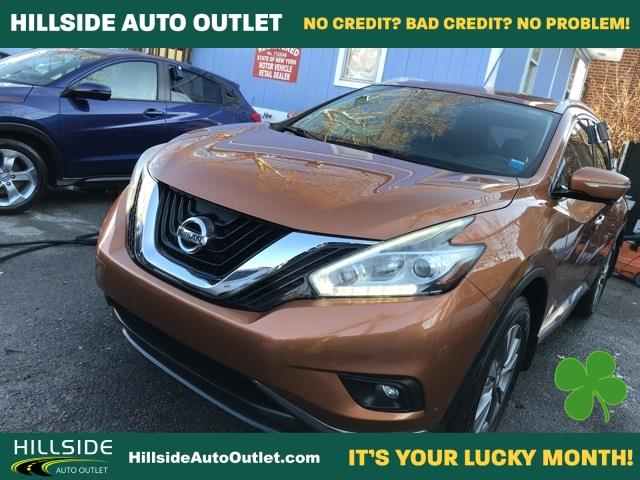 Used Nissan Murano SL 2015 | Hillside Auto Outlet. Jamaica, New York