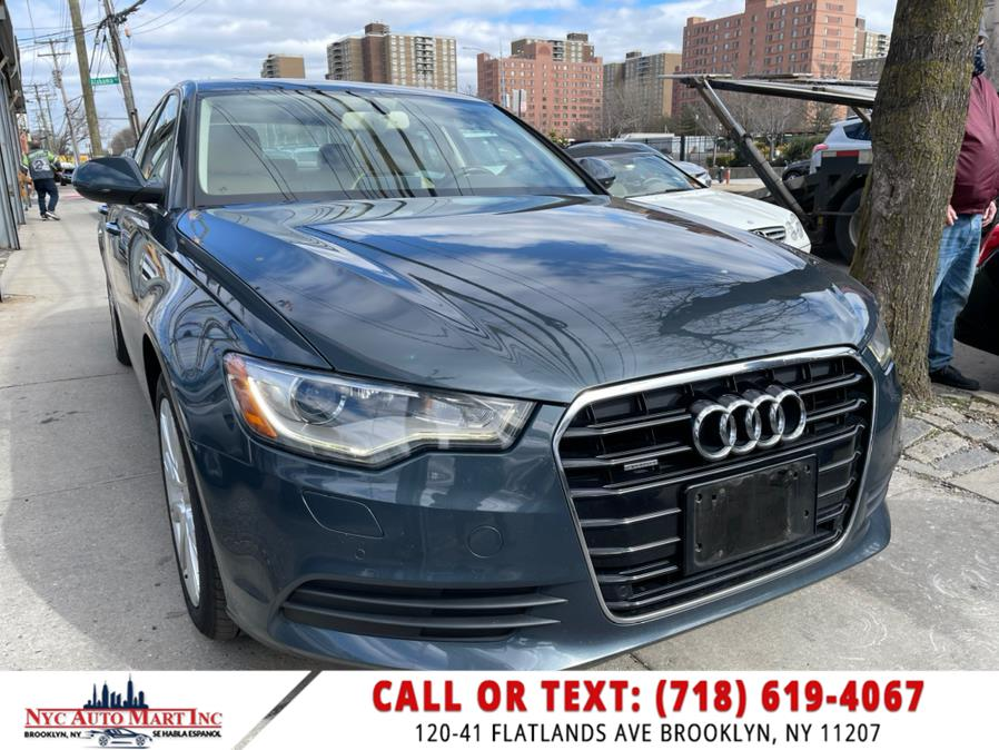 Used 2015 Audi A6 in Brooklyn, New York | NYC Automart Inc. Brooklyn, New York