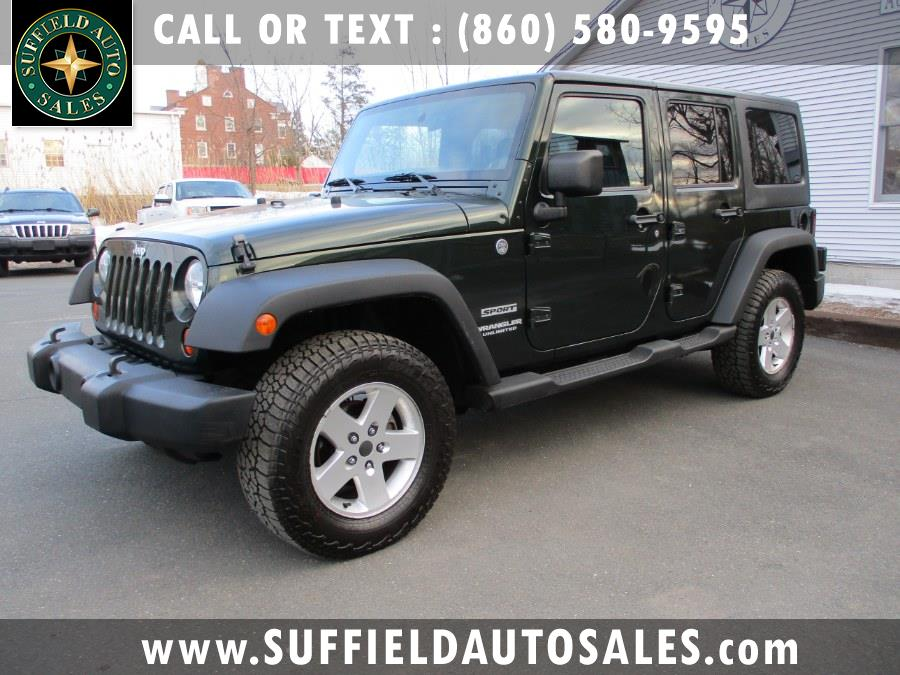 Used 2011 Jeep Wrangler Unlimited in Suffield, Connecticut | Suffield Auto Sales. Suffield, Connecticut