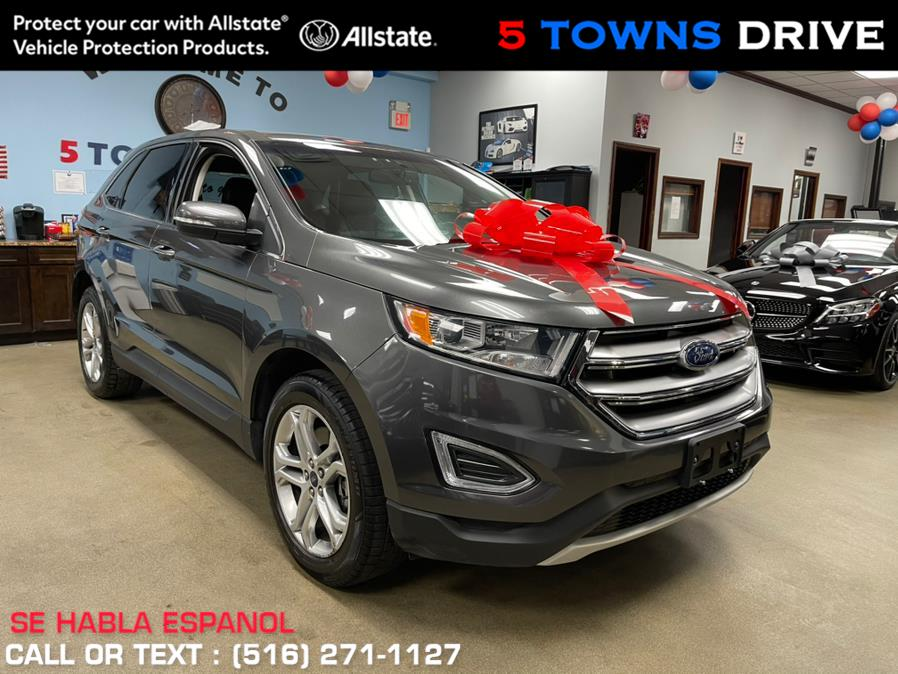 Used Ford Edge Titanium AWD 2018 | 5 Towns Drive. Inwood, New York