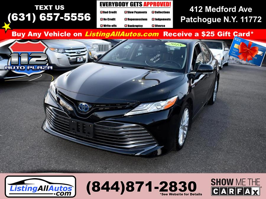 Used 2018 Toyota Camry in Patchogue, New York | www.ListingAllAutos.com. Patchogue, New York