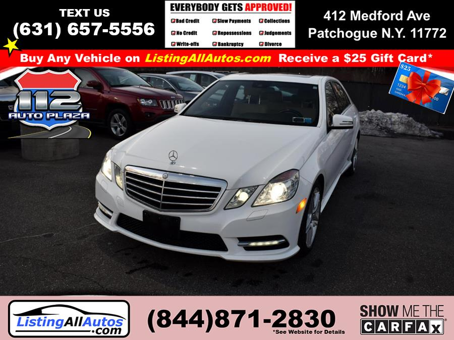 Used 2013 Mercedes-benz E-class in Patchogue, New York | www.ListingAllAutos.com. Patchogue, New York