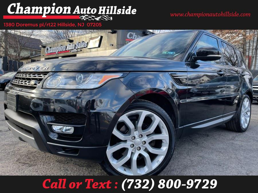 Used 2015 Land Rover Range Rover Sport in Hillside, New Jersey | Champion Auto Hillside. Hillside, New Jersey