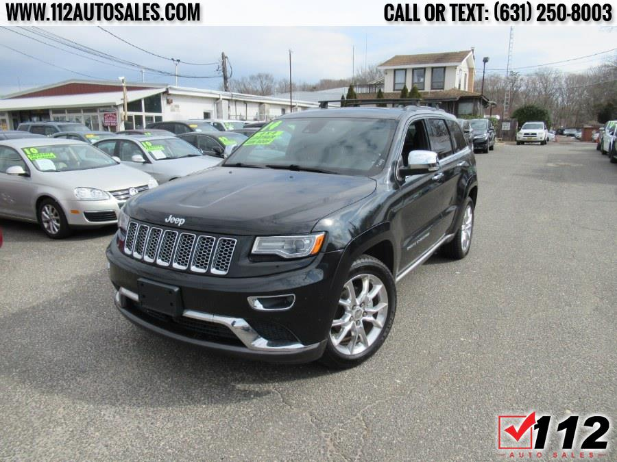 Used Jeep Grand Cherokee 4WD 4dr Summit 2014 | 112 Auto Sales. Patchogue, New York