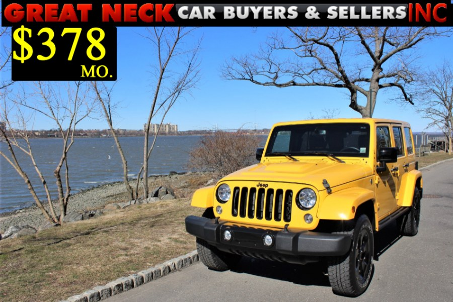 Used 2015 Jeep Wrangler Unlimited in Great Neck, New York